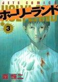 ホーリーランド、コミック本3巻です。漫画家は、森恒二です。