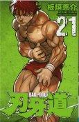 人気マンガ、刃牙道、漫画本の4巻です。作者は、板垣恵介です。