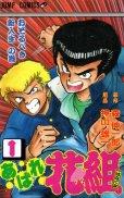 あばれ花組、コミック1巻です。漫画の作者は、押山雄一です。