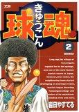 球魂(きゅうこん)、単行本2巻です。マンガの作者は、岩田やすてるです。