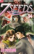 人気マンガ、7SEEDS(セブンシーズ)、漫画本の4巻です。作者は、田村由美です。