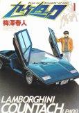 カウンタック、コミック1巻です。漫画の作者は、梅澤春人です。