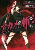 田代哲也の、漫画、アカメが斬るの最終巻です。