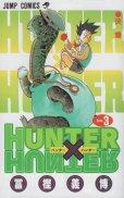 人気コミック、ハンターハンター、単行本の3巻です。漫画家は、冨樫義博です。