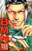 ブラックマンデーナイト、単行本2巻です。マンガの作者は、SP☆なかてまです。