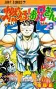 燃えるお兄さん、コミック本3巻です。漫画家は、佐藤正です。